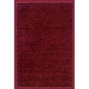 Kempton Rectangle: 5 Ft. x 7 Ft. Burgundy Rug
