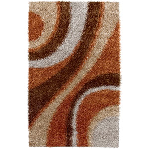 Kempton Rectangle: 5 Ft. x 7 Ft. Brown Rug