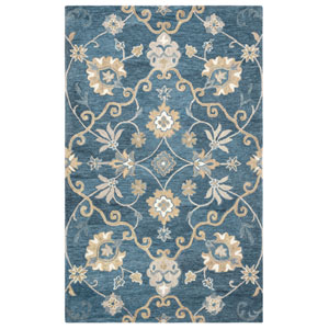 Leone Blue Rectangular: 2 Ft. x 3 Ft.  Rug