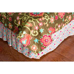 Laura Fair Suzie Q Pink Twin Bed Skirt