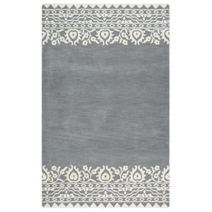 Marianna Fields Gray Rectangular: 5 Ft. x 8 Ft.  Rug
