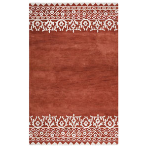 Marianna Fields Rust Rectangular: 5 Ft. x 8 Ft.  Rug