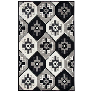 Marianna Fields Black Rectangular: 5 Ft. x 8 Ft.  Rug