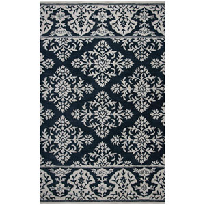 Marianna Fields Navy Rectangular: 5 Ft. x 8 Ft.  Rug