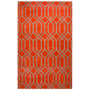 Marianna Fields Red Rectangular: 8 Ft. x 10 Ft.  Rug
