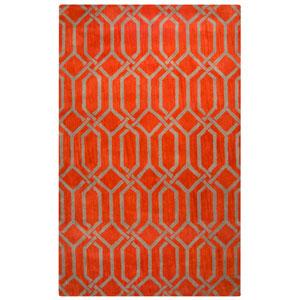 Marianna Fields Red Rectangular: 9 Ft. x 12 Ft.  Rug