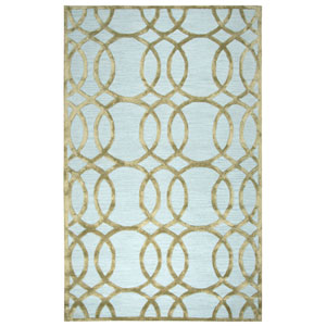 Monroe Ivory and Cream Rectangular: 3 Ft. x 5 Ft.  Rug