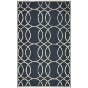 Monroe Teal Rectangular: 3 Ft. x 5 Ft.  Rug