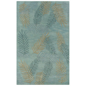 Pandora Rectangle: 5 Ft. x 8 Ft. Light Blue Rug