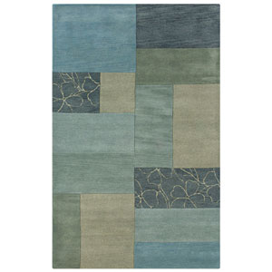 Pandora Rectangle: 5 Ft. x 8 Ft. Blue Rug