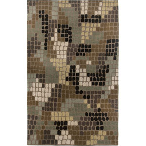 Pandora Rectangle: 5 Ft. x 8 Ft. Brown Rug