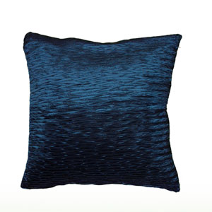 Peacock Blue 18-Inch Holiday Pillow