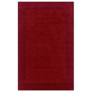 Platoon Rectangle: 5 Ft. x 8 Ft. Red Rug