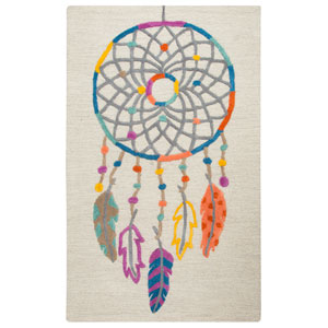 Play Day  Ivory Rectangular: 3 Ft. x 5 Ft.  Rug