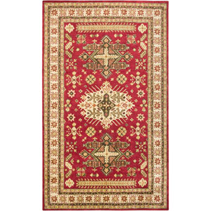 Shine Rectangle: 5 Ft. x 8 Ft. Red Rug