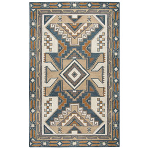 Southwest Gray Rectangular: 2 Ft. x 3 Ft.  Rug