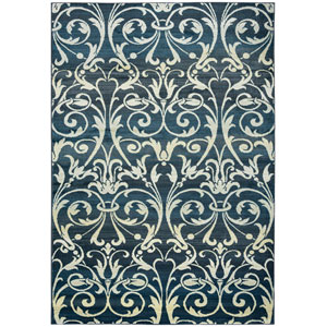 Sorrento Gray and Charcoal Rectangular: 9 Ft. 10-Inch x 12 Ft. 6-Inch  Rug