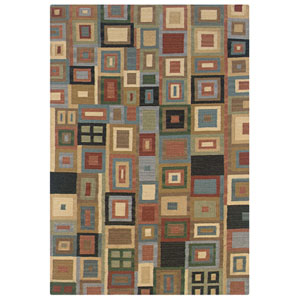 Swing Rectangle: 5 Ft. x 8 Ft. Multi Rug