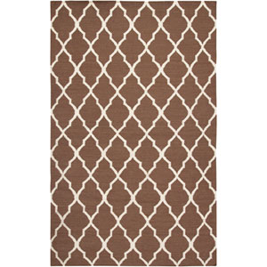 Swing Rectangle: 5 Ft. x 8 Ft. Light Brown Rug
