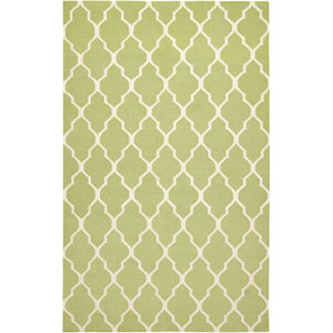 Swing Rectangle: 5 Ft. x 8 Ft. Light Green Rug