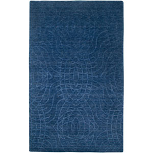 Uptown Rectangle: 5 Ft. 6 In. x 8 Ft. 6 In. Indigo Blue Rug