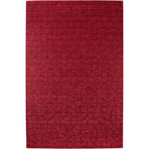 Uptown Rectangle: 5 Ft. 6 In. x 8 Ft. 6 In. Red Rug
