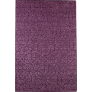 Uptown Rectangle: 5 Ft. 6 In. x 8 Ft. 6 In. Plum Rug