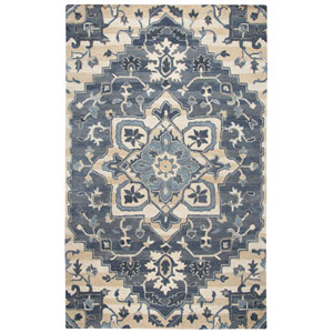 Valintino Blue Rectangular: 8 Ft. x 10 Ft.  Rug