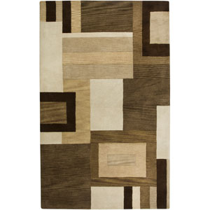 Volare Rectangle: 5 Ft. x 8 Ft. Brown Rug