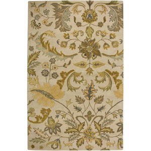 Volare Rectangle: 5 Ft. x 8 Ft. Beige Rug