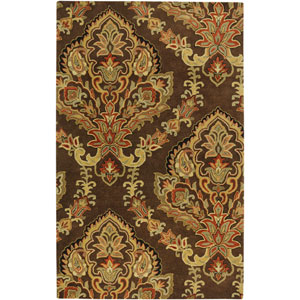 Volare Rectangle: 5 Ft. x 8 Ft. Chocolate Rug
