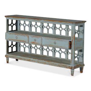 Blue Wine Connoisseur Shelf