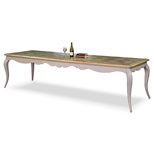 Gray Louis 83-Inch Dining Table