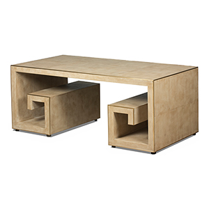 Beige 48-Inch Coffe Table