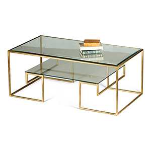 Gold Hermoine Coffee Table