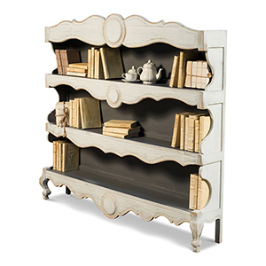 Artisan Gray Bookshelf
