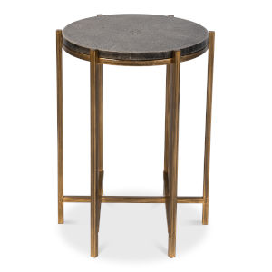 Black 16-Inch Spence Side Table