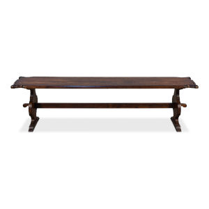Brown 16-Inch Cheshire Bench