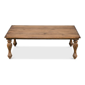 Brown 30-Inch Renaissance Coffee Table