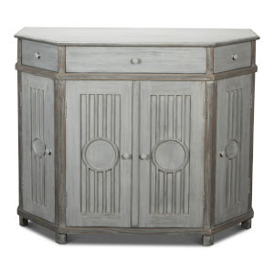 Gray 21-Inch Topnotch Bay Front Tall Sideboard