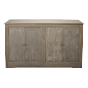 Gray 19-Inch Twp-Door Sideboard