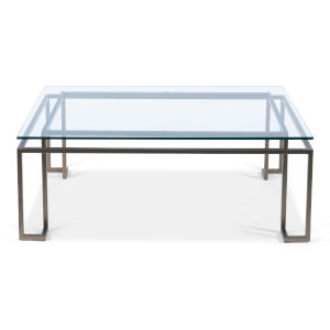 Transparent 32-Inch Bartlet Coffee Table
