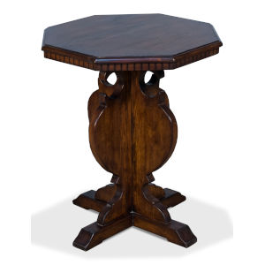 Brown Brogan Side Table