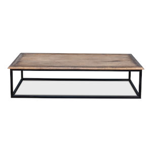 Brown 32-Inch Low Table