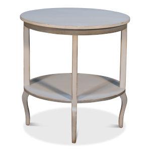 Gray 21-Inch Swedish Side Table