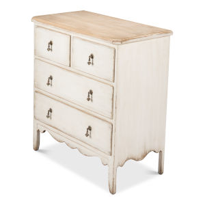 White Swedish Commode