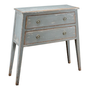Gray Stilts Hall Console