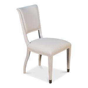 White Elegant Dining Side Chair