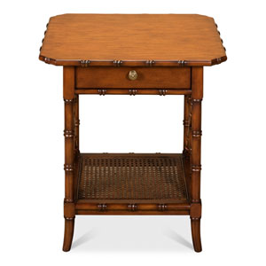 Brown Far East Lamp Table