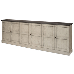 Gray Sideboards with Six Luciana Wood Drawer